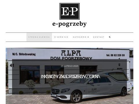 E-pogrzeby.pl poradnik