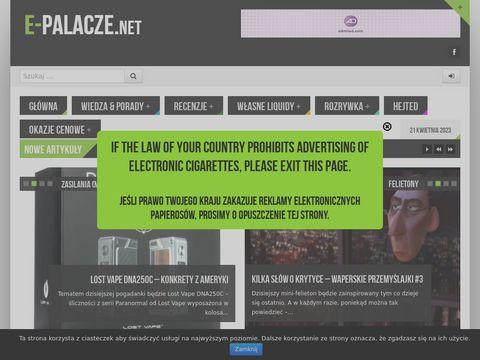 E-palacze.net papierosy elektroniczne
