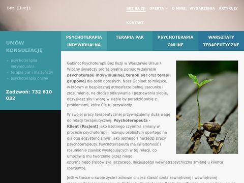 Beziluzji.pl psychoterapia Warszawa Ursus