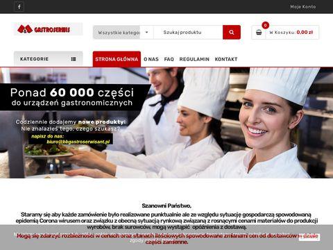 Bbgastroserwisant.pl części agd sklep online