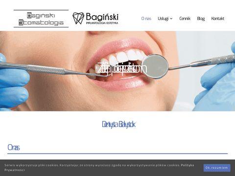 Baginskistomatologia.pl plastyka wędzidełka
