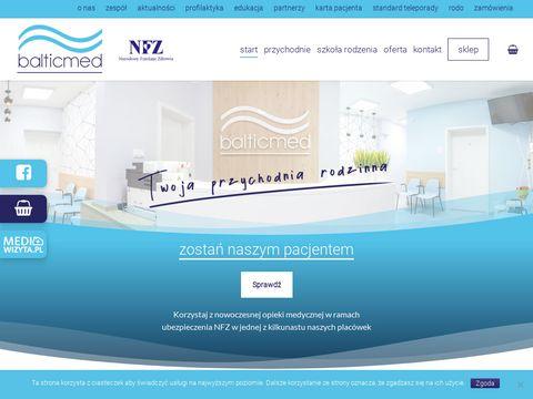Balticmed.pl przychodnia Szczecin