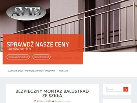 Elementy balustrad - balustradybalkonowe.pl