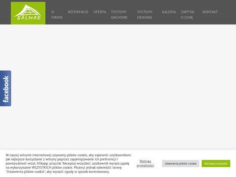 Balmar.pl ogród zimowy na tarasie