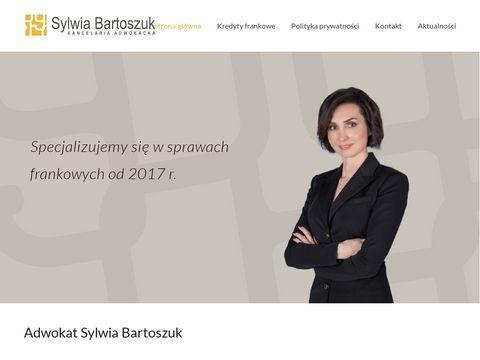 Sylwia Bartoszuk - kancelaria prawna w Krakowie