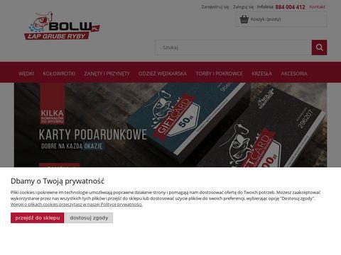 Bolw.pl zestawy wędkarskie