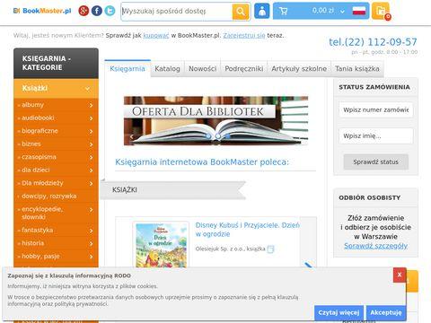 Bookmaster.pl księgarnie internetowe