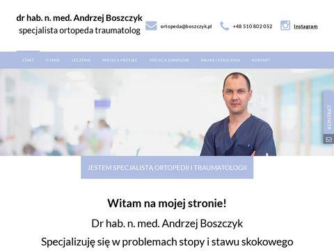 Boszczyk.pl ortopeda
