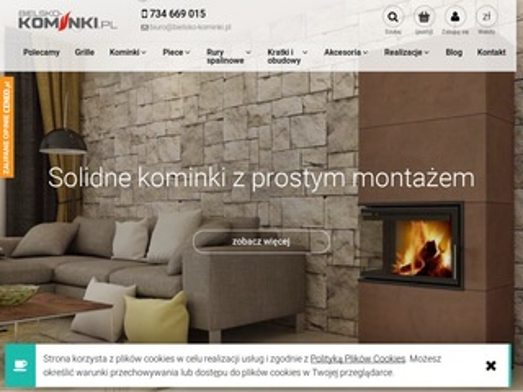 Bielsko-Kominki.pl - piec koza