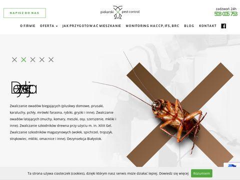 Bialystokddd.pl dezynfekcja