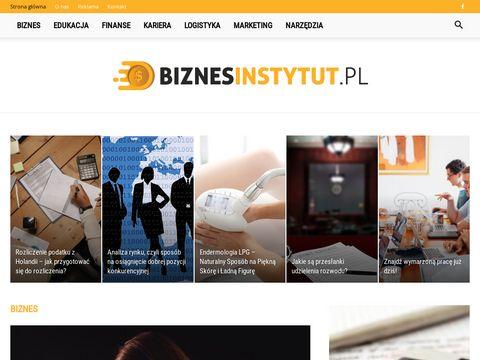 Biznes Instytut - Inwestowanie w nieruchomości