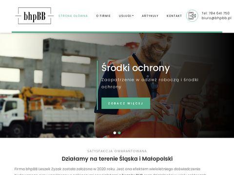 Bhpbb.pl szkolenia BHP Bielsko