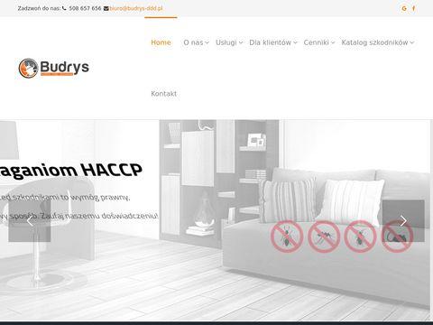 Budrys-ddd.pl deratyzacja Warszawa