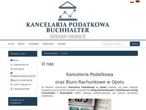 Buchhalter.opole.pl biuro rachunkowe