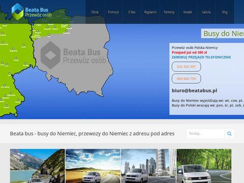 Bustransfery.pl - przewóz pasażerów
