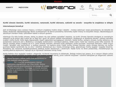 Brendi.pl - kurtki damskie
