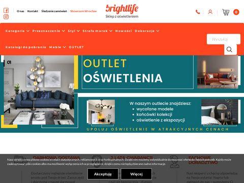 Brightlife.pl sklep z oświetleniem