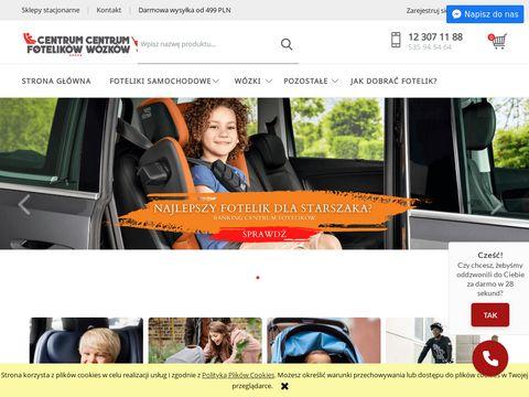 Centrumfotelikow.pl wózki dziecięce Kraków