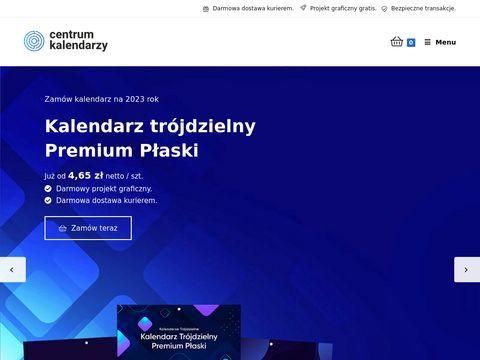 Centrumkalendarzy.pl trójdzielne