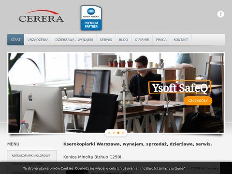 Cerera.pl sprzedaż kserokopiarek