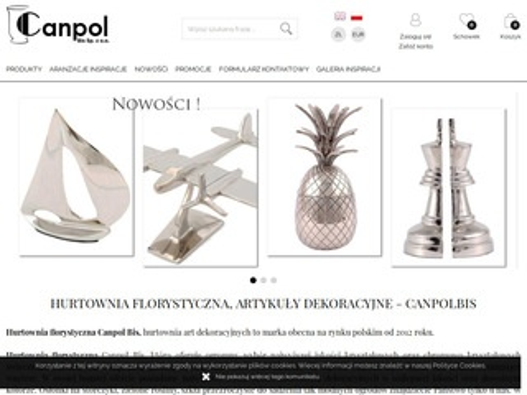 Canpolbis.pl dodatki florystyczne