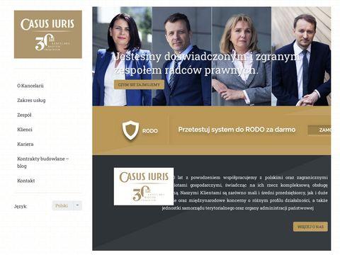 Casus Iuris - Kancelaria Radców Prawnych