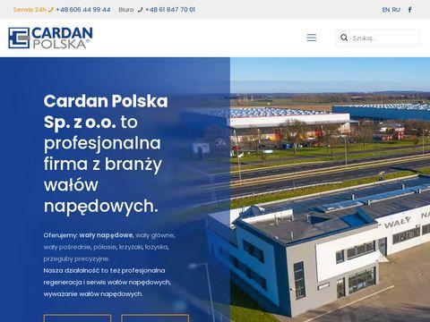 Cardanpolska.pl regenracja wałów