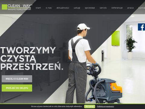 Cleanway.pl maszyny czyszczące
