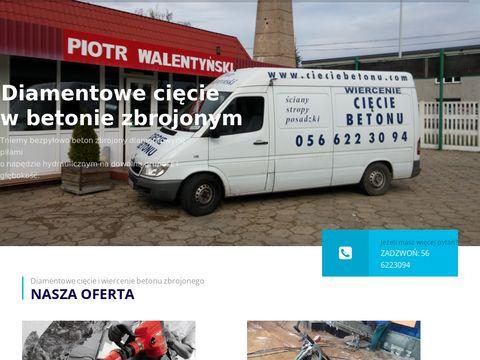 Cieciebetonu.com.pl posadzki, ściany, stropu