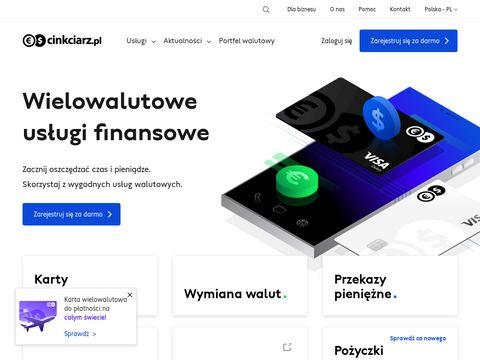 Cinkciarz.pl kantor internetowy