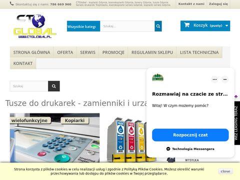 Ctglobal.pl drukarki używane