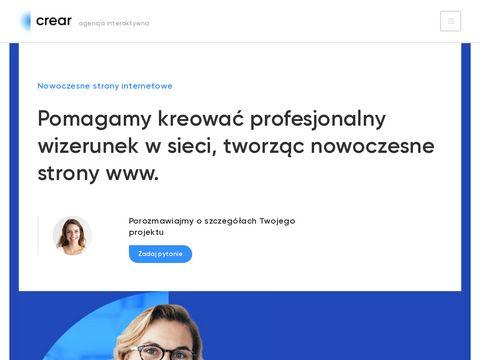 Crear.pl agencja interaktywna Poznań