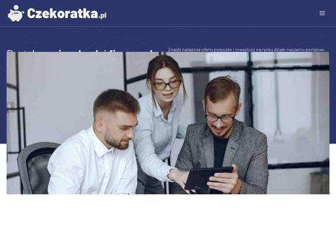 Czekoratka.pl pożyczka przez internet