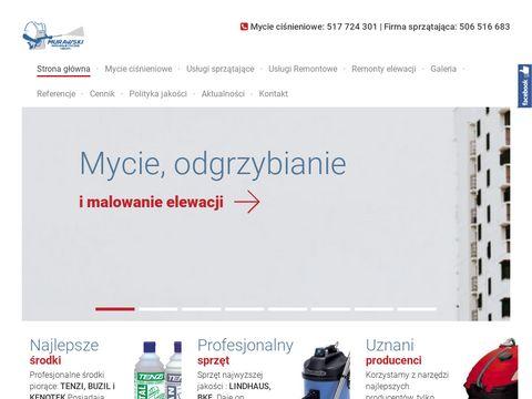 Czyszczenie-murawski.pl sprzątanie po remontach