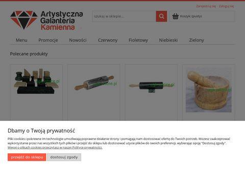 Agk.istore.pl producent wyrobów z kamienia