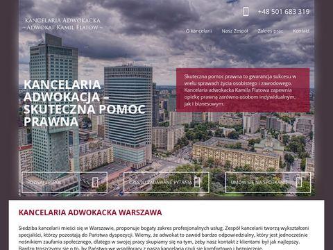Adwokatfhfwarszawa.pl kancelaria