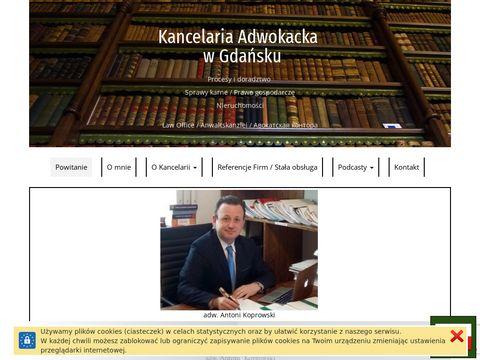 Adwokat-koprowski.pl sprawy rozwodowe