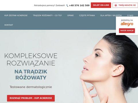 Acnerose.pl kosmetyki na trądzik różowaty