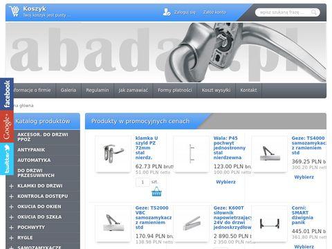 Abadax.pl - klamki do drzwi