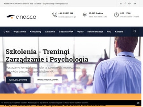 Anacco.pl - coaching menedżerski