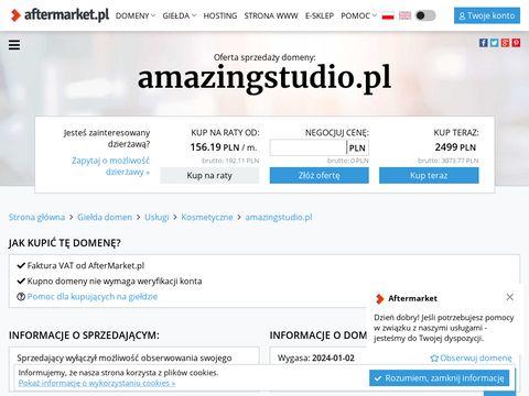 Amazingstudio.pl kurs ze stylizacji rzęs