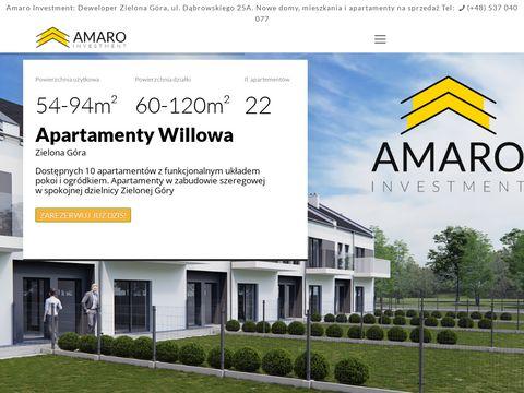 Amaro Investment - wyjątkowy deweloper