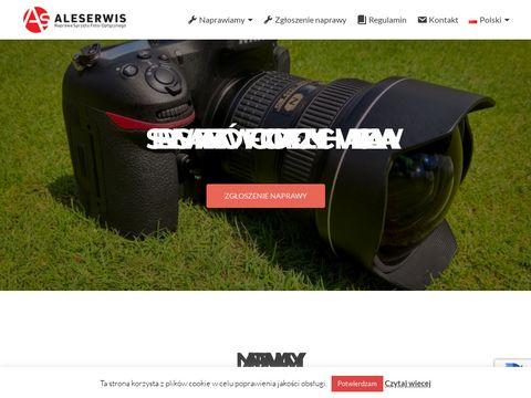 Aleserwis.pl aparatów fotograficznych Warszawa
