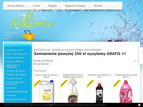 Alechemia.pl niemieckie proszki do prania