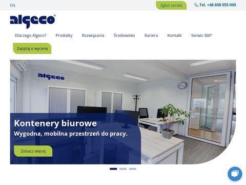 Algeco.pl kontenery socjalne wynajem