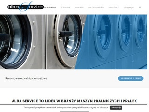 Alba Service urządzenia pralnicze