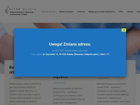 Alterklinik.pl medycyna ortomolekularna