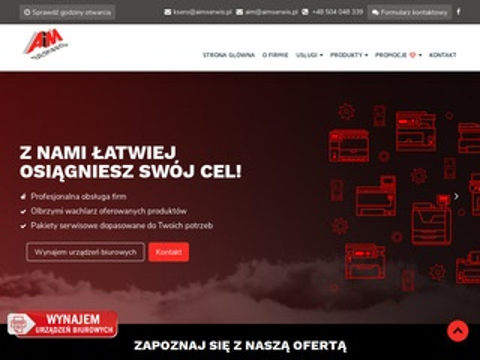 Aimserwis.pl ksero naprawa drukarek