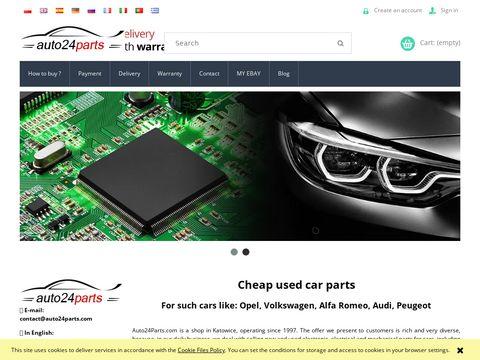 Auto24parts.com - części samochodowe