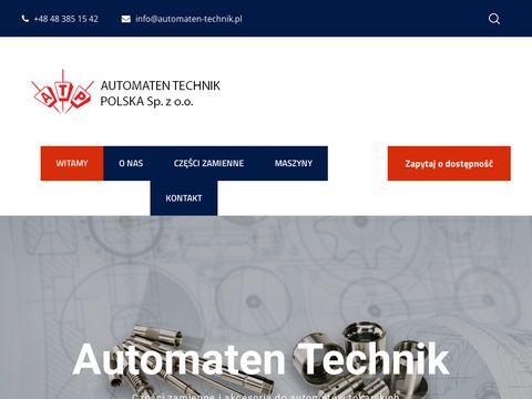 Automaten-technik.pl naszyny CNC